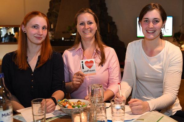 Daniela Witten, Elena Körting, Lena Wormuth