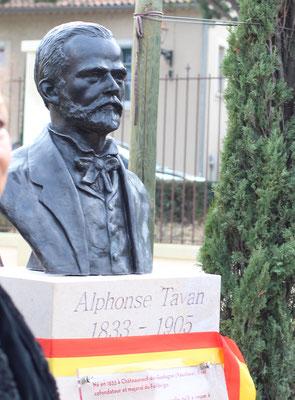 Buste-Sculpture-Sculpteur-Langloys-Art-Œuvre-Bronze-AlphonseTavan