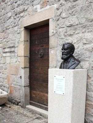 Buste, Bustes, Sculpture, Buste Marius Vazeilles, sculpteur Langloÿs