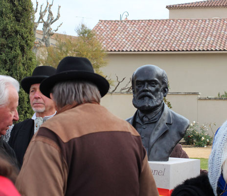 Buste-Sculpture-Sculpteur-Langloys-Art-Œuvre-Bronze-ThéodoreAubanel