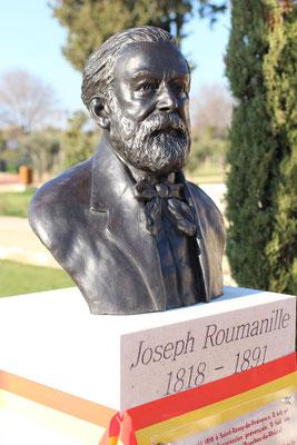 Buste-Sculpture-Sculpteur-Langloys-Art-Œuvre-Bronze-JosephRoumanille