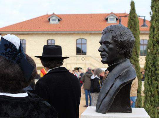 Buste-Sculpture-Sculpteur-Langloys-Art-Œuvre-Bronze-PaulGiéra