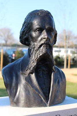 Buste-Sculpture-Sculpteur-Langloys-Art-Œuvre-Bronze-JeanBrunet