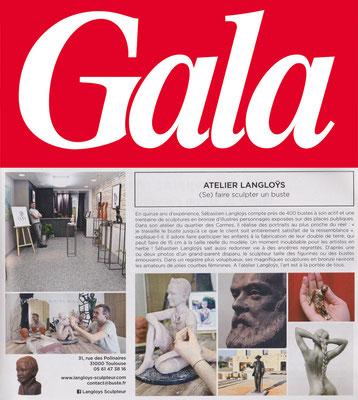 Sculpture, Statue, Artiste, Sculpteur, Toulouse, Presse, Langloÿs