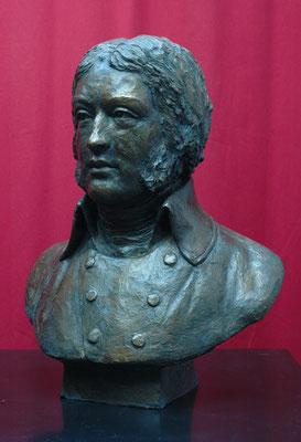 Buste de Louis Lazare Hoche, sculpteur Langloÿs