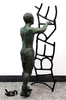 Buste-Statue-Sculpture-Bronze-Liberté-Sculpteur-Langloÿs