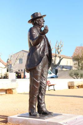 Buste-Statue-Sculpture-Bronze-Frédéric-Mistral-Sculpteur-Langloÿs