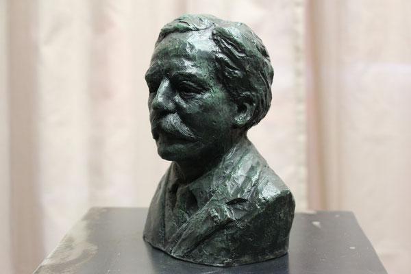 Buste, en bronze de Gabriel Fauré, Sculpteur, Langloÿs