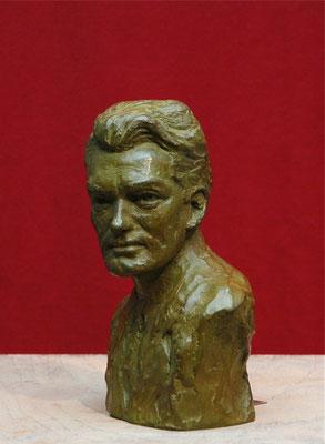 Buste, en bronze de Jean Marais, sculpteur Langloÿs