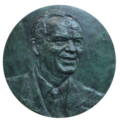 Buste, Sculpteur, Langloys, Bas Relief, Bronze, Pierre Raynal