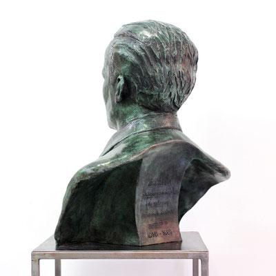 Buste, buste sur mesure, buste d'après photos, sculpture, Dejean, sculpteur, artiste, sculpteur Langloÿs