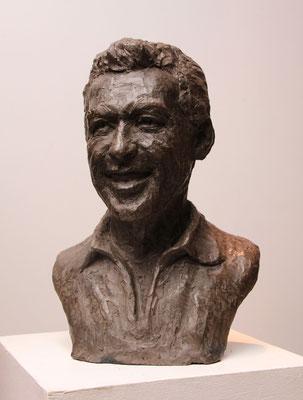 Buste, Luis Mariano, d'après photos, sculpteur Langloÿs