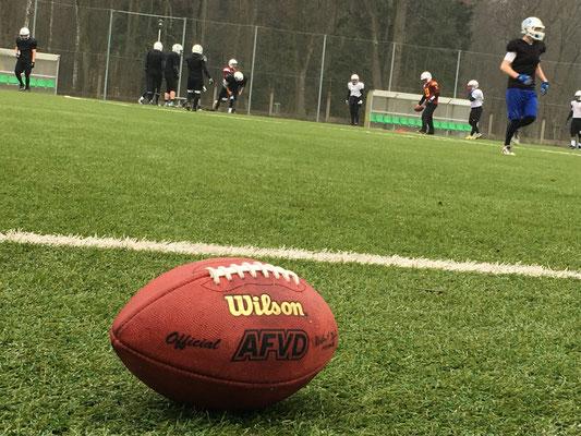 American Football bei der Saisonvorbereitung