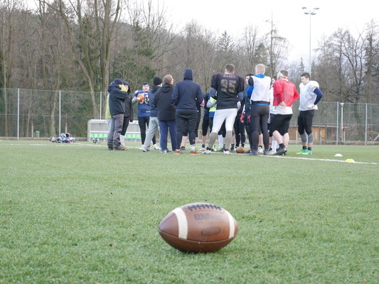 American Football Trainingscamp