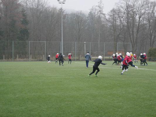 American Football Trainingslager