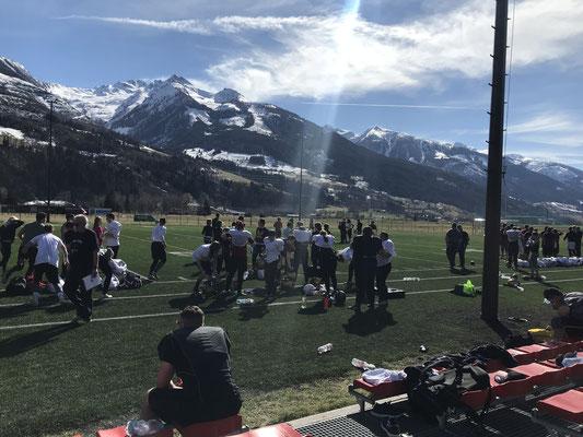 Football Mannschaft Saisonvorbereitung