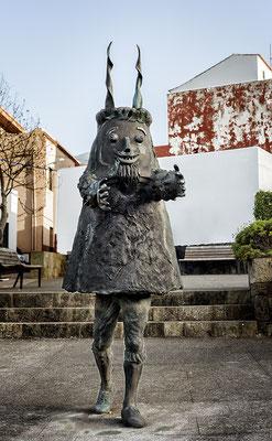 Homenaje a Las Libreas (detalle). Bronce. 2009. El Palmar, Buenavista, Tenerife