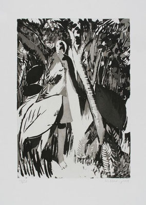 06, Zuckertusche, Aquatinta, Papierformat 53x40cm