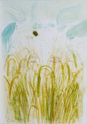 Sterntaler, Aquarell 04, 2008, 47x33cm