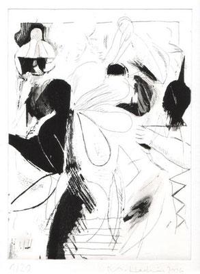 back, 2006, Radierung, 26 x 19 cm, Edition 20 + 5