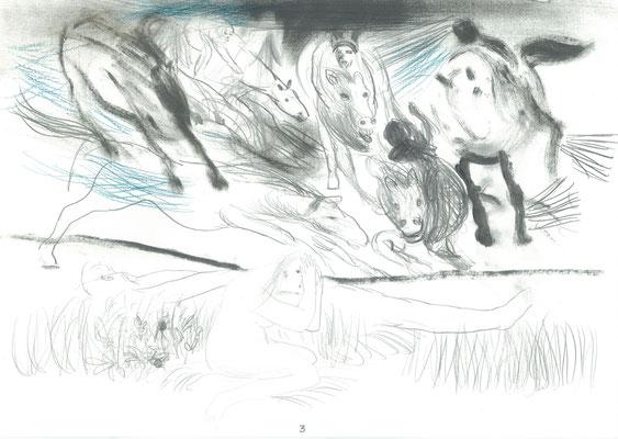 Zeichnung 3, 29,7x42cm