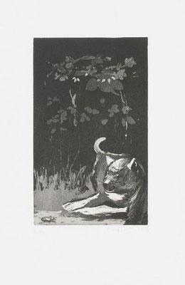 03, Ätzradierung, Aquatinta, Papierformat 38x27cm