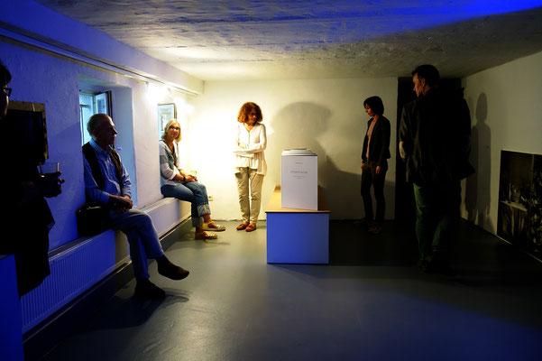 """Sterntaler, Teil der Ausstellung """"Dynamische Zeichen"""", Kunsttempel Kassel, 2016"""