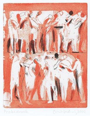 01, 2002, zwei Kupferplatten, je 27 x 21,5 cm, Edition 20