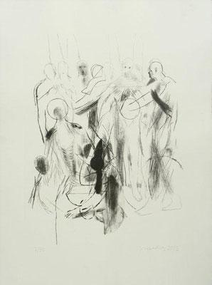 Körper, 2003, Lithographie, 64 x 48 cm, Edition 30