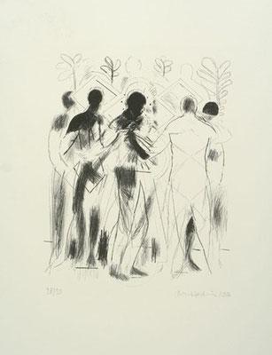 Kleiner Lazarus, 2006, Lithographie, 66 x 50 cm, Edition 30