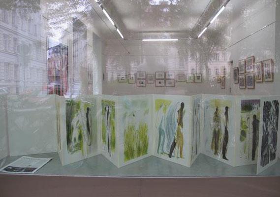 "Sterntaler, Teil der Ausstellung ""Endlosschleife"", Galerie am Park, 1060 Wien, 2014"