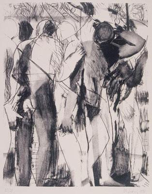 Körper I, 1997, Lithographie, 64 x 48 cm, Edition 20