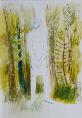 Sterntaler, Aquarell 01, 2008, 47x33cm