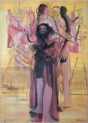 zehn Minuten, 2011, Acryl auf Leinwand, 140x100cm