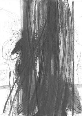 02, Zeichnung, 2012, 42x29,7cm