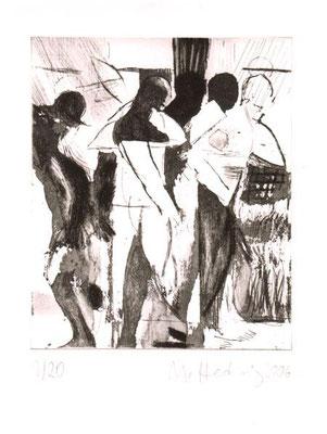 Transit, 2006, Radierung, 18 x 15 cm, Edition 20