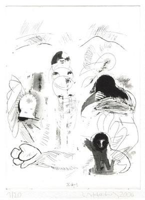 soft, 2006, Radierung, 26 x 19 cm, Edition 20 + 5