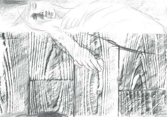 Zeichnung 7, 29,7x42cm