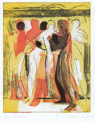 02, 2002, drei Kupferplatten, je 27 x 21,5 cm, Ed. 20