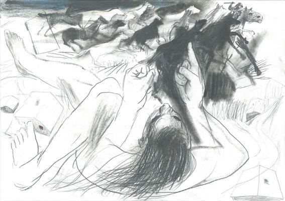 Zeichnung 10, 29,7x42cm