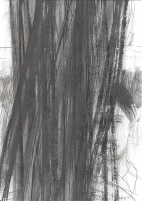 01, Zeichnung, 2012, 42x29,7cm