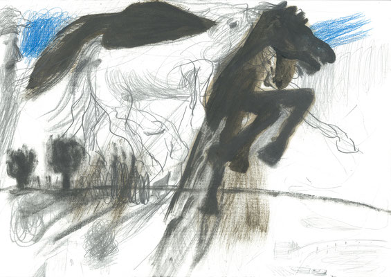 Zeichnung 4, 29,7x42cm