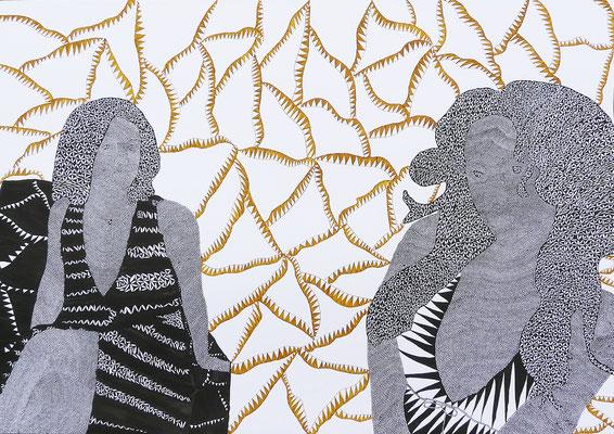 Elfriede Skramovsky, Zeichnung