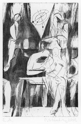 11, 2002, Kupferplatte, 30 x 20 cm, Edition 20