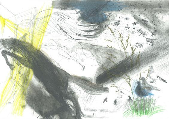 Zeichnung 6, 29,7x42cm