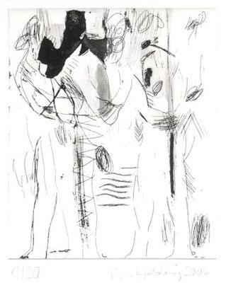 clean, 2006, Radierung, 17,5 x 15 cm, Edition 20 + 5
