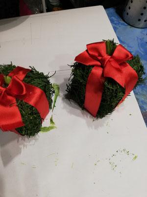 Hyazinthe als Geschenk im Tetrapack
