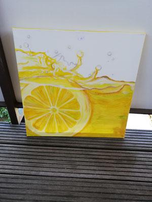 Zitrone     50 x 50 cm                                                                                       50,00 €