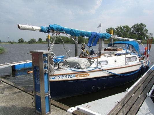 7 Monate auf dem Segelboot durch Mecklenburg-Vorpommern