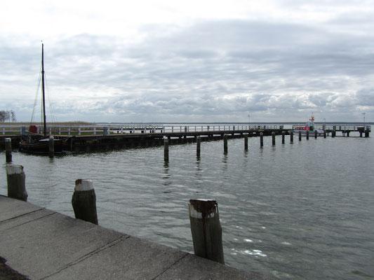 Hafenbecken Wasserwanderrastplatz Wieck